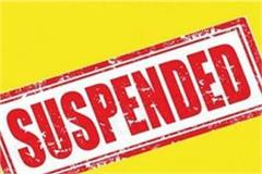deoria police officer suspended in case of drunkenness