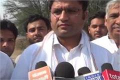 ashok tanwar s statement about cm s foreign visit