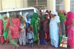 billibilan women protested to solve problem of drinking water