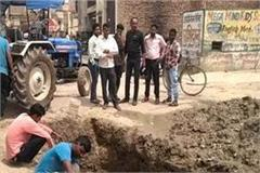 black water poisoning water supply of bhiwani