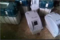 vvpat machine heating from workers  house in karnataka