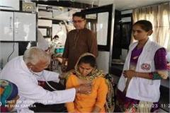 aman arora dedicates sunam light to mobile clinic