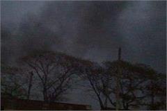 shrinking smoke from the molded furnaces of mandi gobindgar