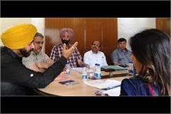 30 places in punjab to be made tourism cultural hubs sidhu