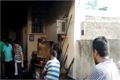 haryana social welfare board chairperson rozi malik s house fire