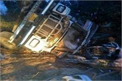 unnao 5 dead in road accident