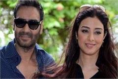 ajay devgan tabu to knock on the shooting of the film in manali