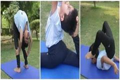 ghaziabad boy proficiency in yoga famous all over