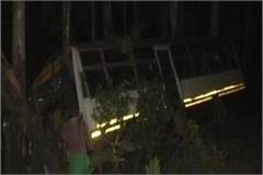 roadways bus crashed in hardoi 18 wounded