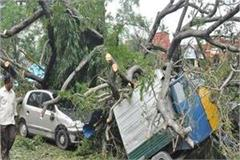 storm in up fierce devastation death toll rises to 15