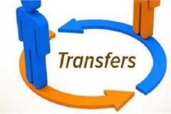 released for transfers 40 workers did it around