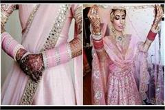 if your favorite color is also baby pink then add this color in bridal attire