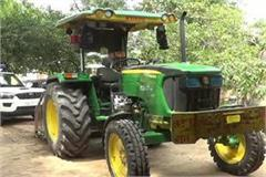 gohana tractor red light driver arrested