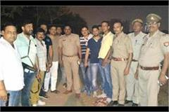 encounter three crooked police officers in noida one injured