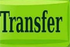 transfer of 15 superintendents and 10 deputy presidents