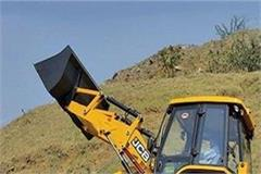 jcb to remain in sensitive points and sliding zone