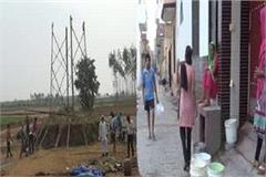 electricity off some villages in gohana