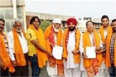 conspiracy to create panic in punjab shiv sena