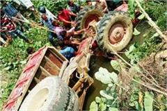 tractor trolley uncontrolled in canal 4 killed including 3 women