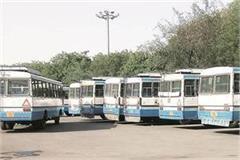 157 buses in panchkula depot