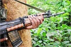 naxalites shot a person