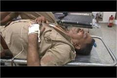 the cops were torturing the injured citing the end of duty