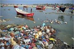 prayagara is moaning with pollution mokshadayini