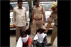 illegal wine catched in fatehabad two arrested