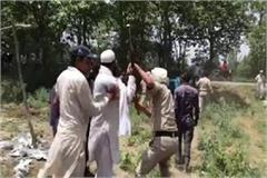 attack on police in yammunanagar