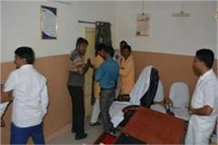 bjp leader warn to panchayt secretary in murena