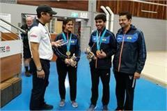 manu also won silver medal with gold in germany