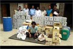 police busted illegal liquor factory in raid