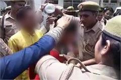 rape victim tried to self abuse outside the ssp office