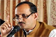 satti gave challenge to mukesh agnihotri fight the mp election