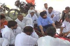 fate of the farmers sitting on dharna