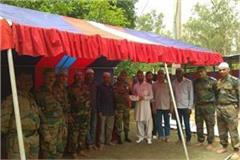 eid was celebrated by the military officer in indora