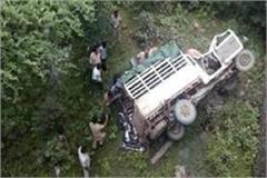 five people die in jeep and two bikes in harda
