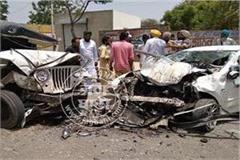 bathinda road accident 2 man killed