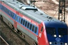 semi high speed train to run between jhansi and gwalior
