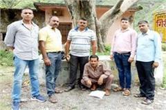 smuggler arrested with 218 grams of hashish on the secret information