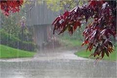 pre moonsoon gave knock in himachal warning of heavy rain