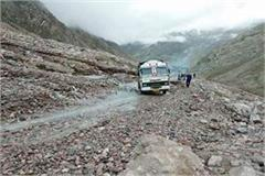 manali leh route restored hundreds of tourists have breathed of relief