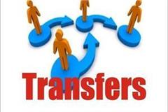 order of transfer and appointment of two ias and four hcs officers