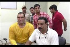 the great khali reached karnal tehsil for getting the land registry