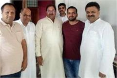 abhay chautala arrives at chandramohan residence