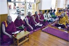 prayer meeting started for good health of dalailama