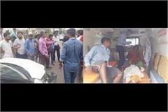 rehari rider couple injured in a car accident