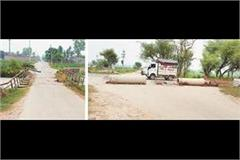 chandrabhan drain overflow bridge of himatspura sailed on second day