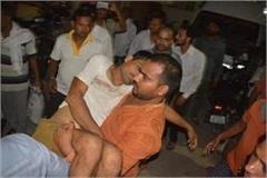 firozabad rss worker sandeep sharma shot dead