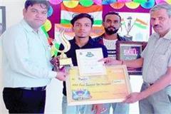 punit got 1 5 lakhs on winning  talent show